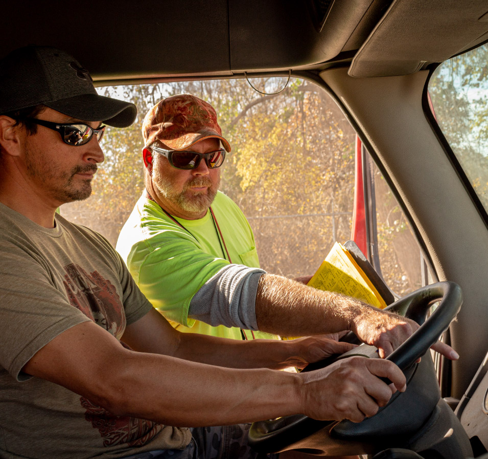 trucking driving instructor